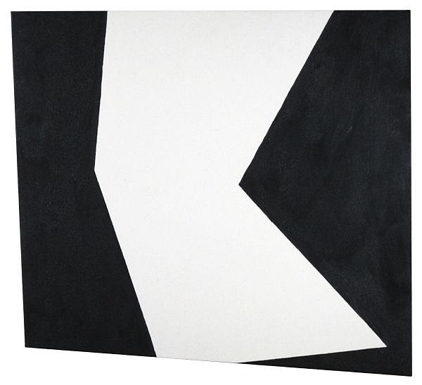 Ken Greenleaf ,   Delta  ,  2010     Acrylic on canvas on shaped support ,  24 x 22 in. (61 x 55.9 cm)     GRE-00002