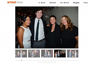News: Christine Berry and Martha Campbell Celebrate artnet's 25th Birthday, December 11, 2014 - Christine Chu