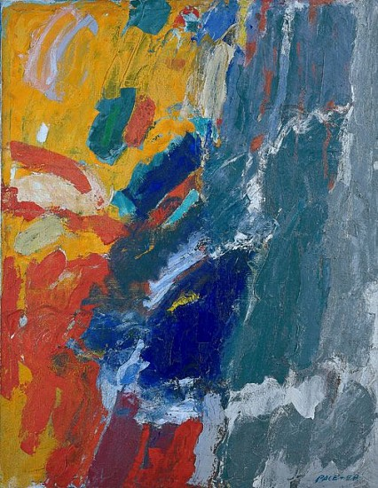 Stephen Pace ,   Untitled (58-A4) | SOLD  ,  1958     Oil on canvas ,  64 x 50 in. (162.6 x 127 cm)     PAC-00028
