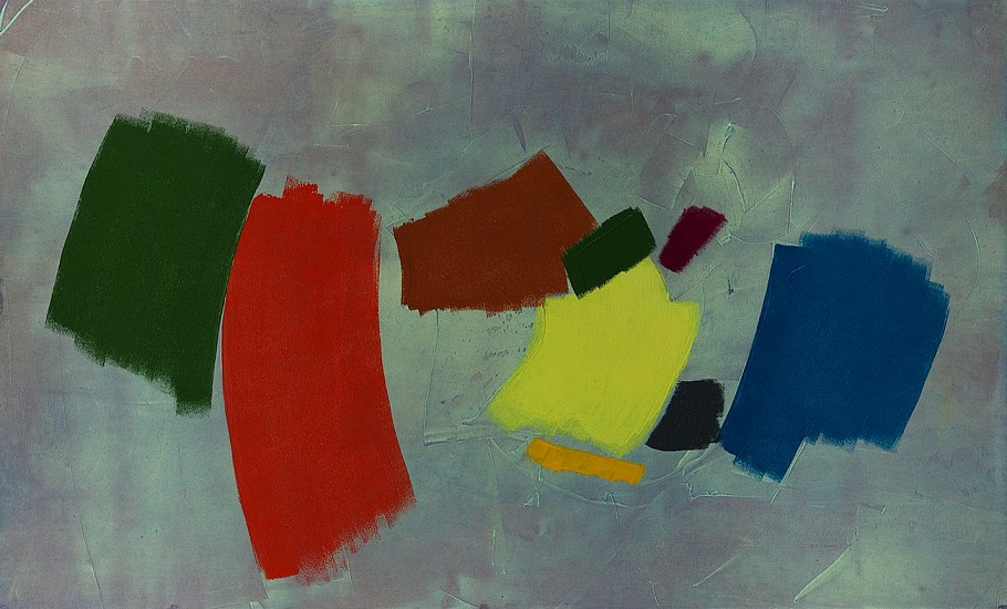 William Perehudoff ,   AC-81-K | SOLD  ,  1981     Acrylic on canvas ,  31 x 51 in. (78.7 x 129.5 cm)     SOLD     PER-00054