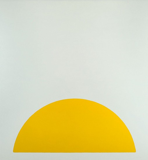 Walter Darby Bannard ,   Yellow Rose #1 | SOLD  ,  1963     Alkyd resin on canvas ,  66 3/4 x 62 3/4 in. (169.6 x 159.4 cm)     SOLD     BAN-00050