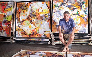 News: Abstract Painter Walter Darby Bannard Dies at 82, October  4, 2016 - Hamptons Art Hub Staff