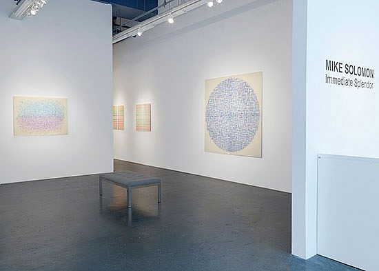 News: ART REVIEW: Mike Solomon Works Concentrate Attention and Tease Perception, June 12, 2017 - Peter Malone for Hamptons Art Hub