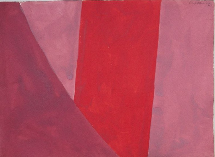 Edward Avedisian ,   Untitled  ,  1967     Gouache on paper ,  22 1/8 x 30 1/4 in. (56.2 x 76.8 cm)     AVE-00011
