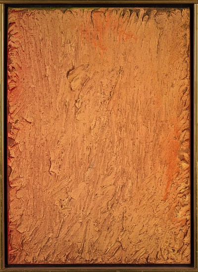 Stanley Boxer ,   Quarryedduskinwaneatlength  ,  1978     Oil on linen ,  21 x 15 in. (53.3 x 38.1 cm)     BOX-00080