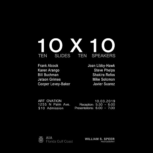 News: Mike Solomon | 10 x 10 : Ten Slides Ten Speakers, September 17, 2019