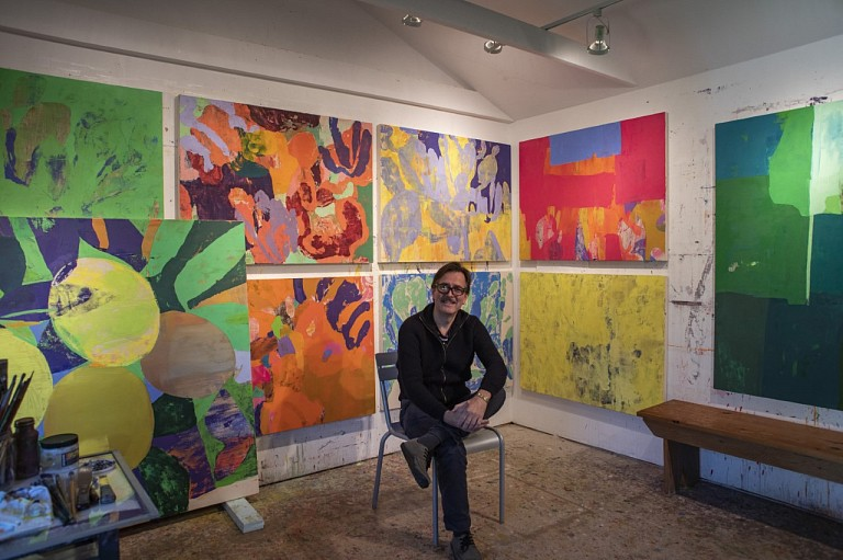 News: Parrish Art Museum: LIVE FROM THE STUDIO WITH ERIC DEVER, April  3, 2020 - Parrish Art Museum Events