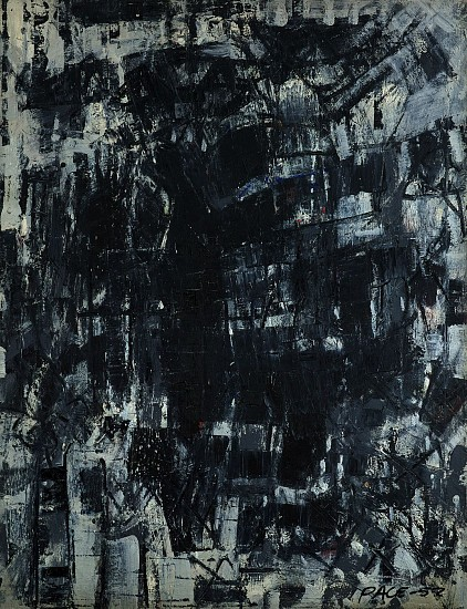 Stephen Pace ,   Untitled (52-13)  ,  1952     Oil on canvas ,  39 x 30 in. (99.1 x 76.2 cm)     PAC-00162