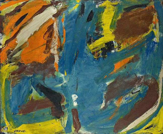 Stephen Pace ,   Untitled (62-05)  ,  1962     Oil on canvas ,  64 x 78 in. (162.6 x 198.1 cm)     PAC-00092