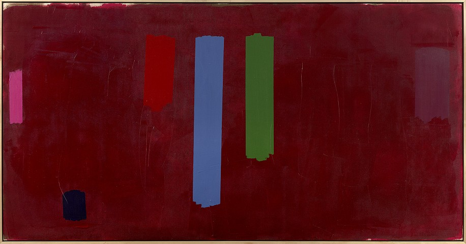William Perehudoff ,   AC-79-10  ,  1979     Acrylic on canvas ,  43 3/8 x 84 in. (110.2 x 213.4 cm)     PER-00072