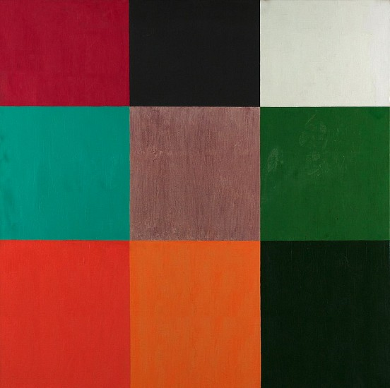 Albert Stadler ,   Untitled (83)  ,  c. 1962     Acrylic on canvas ,  48 x 48 in. (121.9 x 121.9 cm)     STA-00015