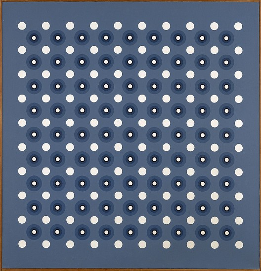 Mary Dill Henry ,   Fabric of Space #1  ,  1966     Acrylic on canvas ,  49 1/2 x 48 in. (125.7 x 121.9 cm)     MHEN-00035